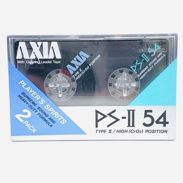 画像1: ▲買取品▲ AXIA PS-II 54 TYPEII HIGH POSITION 2PACK (ハイポジション) カセットテープ (1)