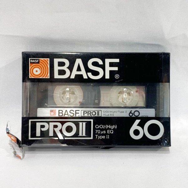 画像1: ▲買取品▲ BASF PRO II 60(ハイポジション)  カセットテープ (1)