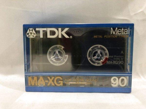 画像1: ▲買取品▲ TDK MA-XG 90 メタル カセットテープ (1)